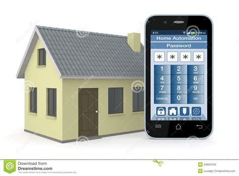 home automation royalty free stock images image 34694129