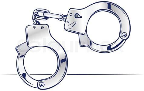 Lock steel handcuffs icon in vector   Stock Vector   Colourbox