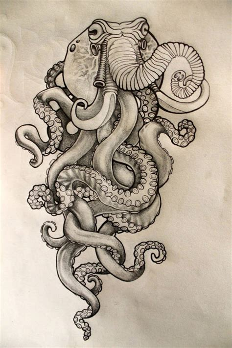 elephant octopus tattoo 9 octopus drawings jpg