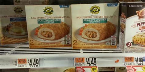 barber food printable coupons barber foods stuffed chicken just 1 50 at stop shop