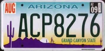 next arizona license plate garage designs az