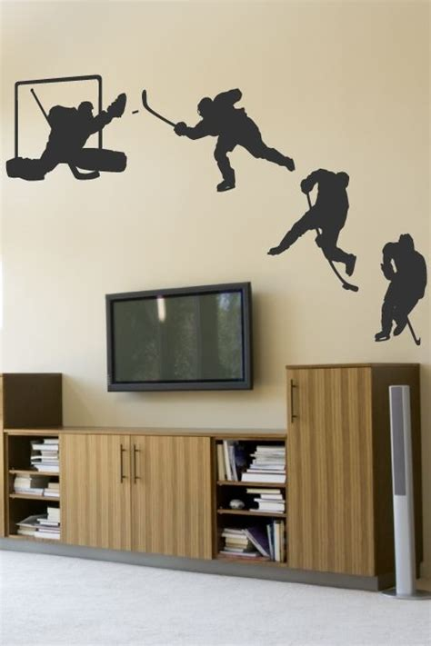 wall tat 39 best images about ice hockey bedroom ideas on pinterest
