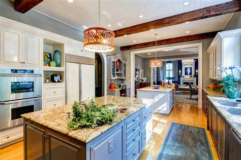 kitchen with two islands 24 kitchen island designs decorating ideas design