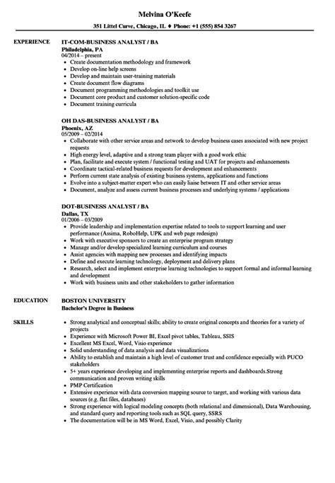 business analyst resume templates samples topshoppingnetwork com