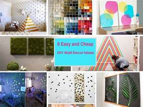 extremely cheap home decor 6 extremely easy and cheap diy wall decor ideas part 4