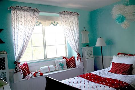 girls room colors girl s room red aqua color design dazzle