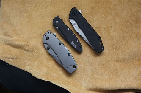 best flipper knives let s talk kershaw top edcs flippers fixed blades by