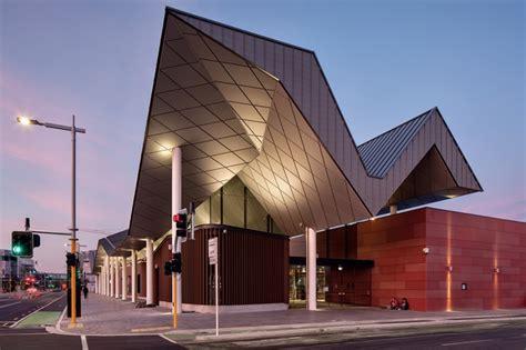 Christchurch Bus Interchange Architecture Now Architectural Designer Christchurch