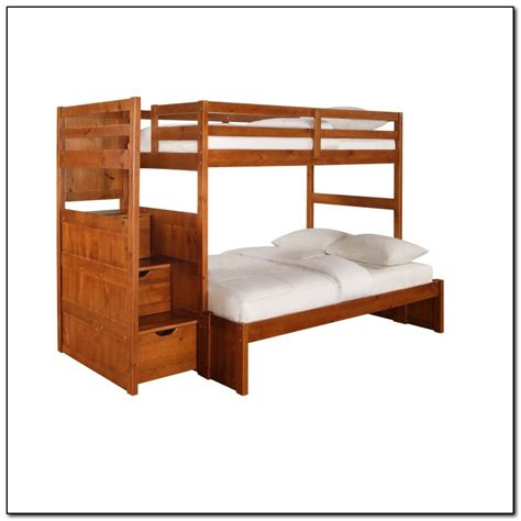 twin full bed twin full bunk bed with stairs beds home design ideas