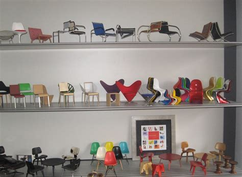 Home Interiors Party midcentury meets vitra miniature chairs collector tom