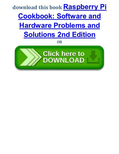 E Book Raspberry Pi Networking Cookbook raspberry pi cookbook software and hardware problems and solutions 2n