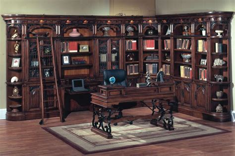 home office library house home office 2pc library desk bar 460 2