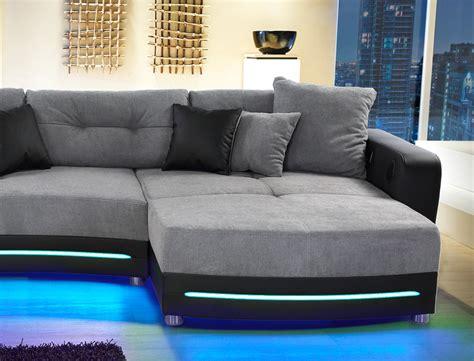 Kanapee Möbel by Wohnzimmer Design Grau