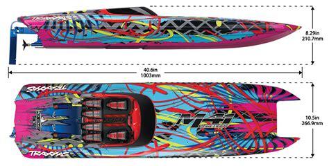 traxxas m41 boat lancha traxxas dcb m41 widebody 40 quot catamaran race boat