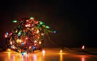 holiday christmas lights colorful full hd wallpaper