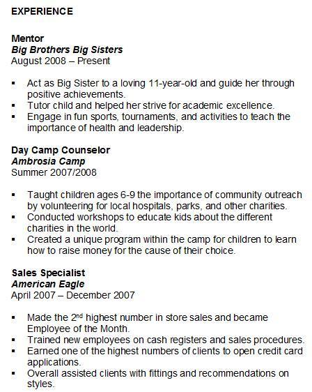 volunteer work resume samples church volunteer resume online