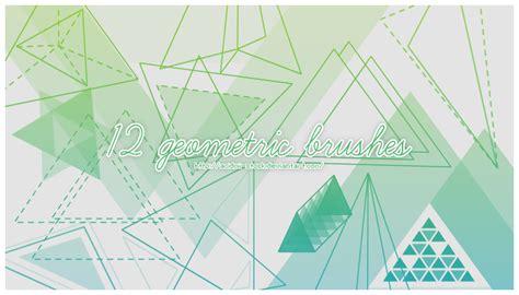 triangle pattern brush photoshop 12 geometric brushes by acidmii stock on deviantart