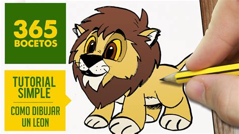 imagenes de leones kawaii como dibujar un le 211 n facil paso a paso kawaii aprender a