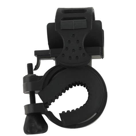 Bike Mount Holder For Flashlight Promo 360 degree cycling bike mount holder for led flashlight torch clip cl free shipping in