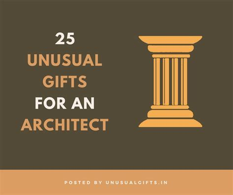 25 unusual gifts for architects   Unusual Gifts
