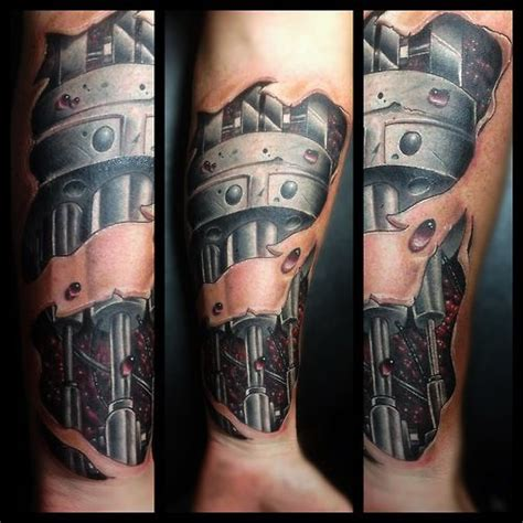 robot sleeve tattoo designs 7 best robotic arm images on