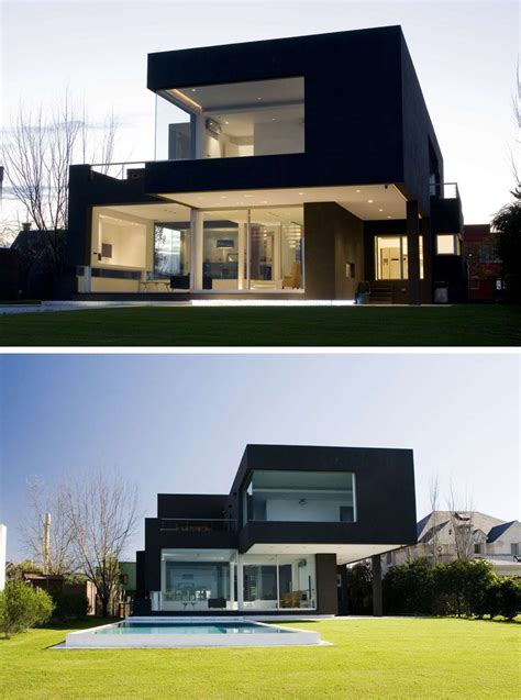 colors for houses house exterior colors 14 modern black houses from around