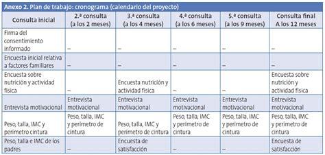 preguntas de investigacion nutricion anexo 2 plan de trabajo cronograma calendario proyecto