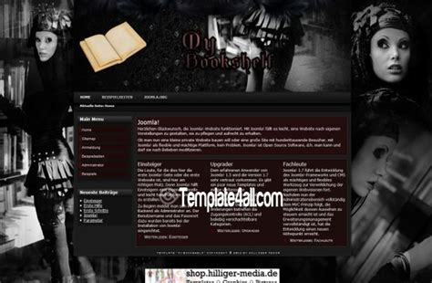 business abstract grunge brown joomla template
