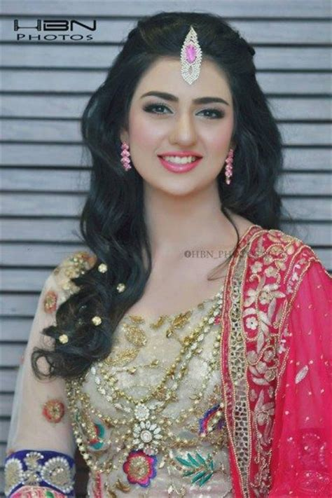 sarah khan beautiful bridal photo shoot pakistani drama