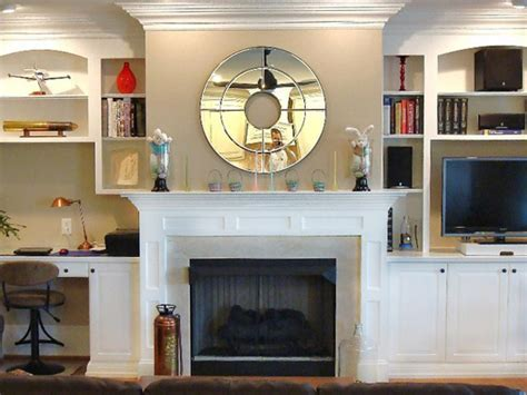 Fireplace Shelves Design by Fireplace Mantel Designs Living Room And Dining Room
