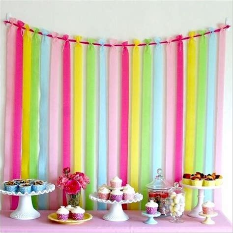 Birthday Decorations With Crepe Paper by Best 25 Crepe Paper Streamers Ideas On Paper