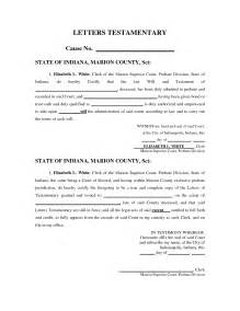 ohio living will template free last will and testament form template will