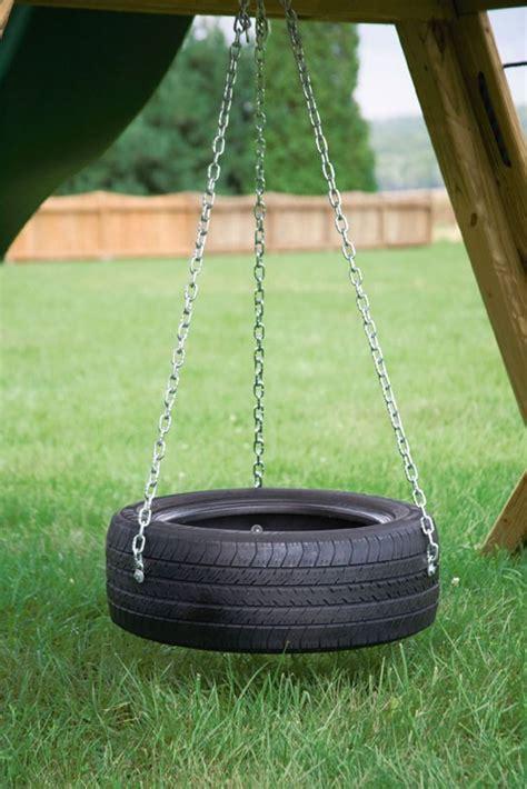 tire swing chain bayhorse gazebos barns 3 chain tire swing custom order