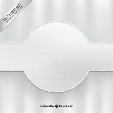Vector Silver White silver background with banner vector free