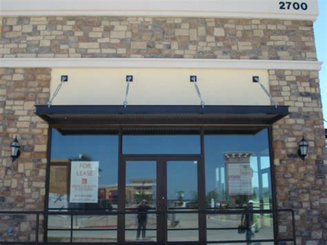 metal canopies and awnings awning commercial metal awnings