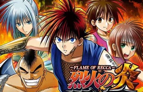 Anime Of Recca of recca wiki fandom powered by wikia