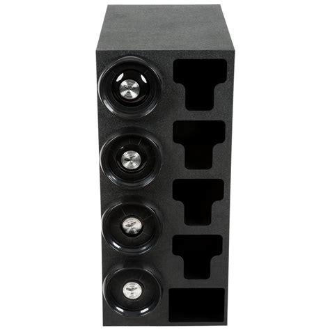 Countertop Cup Dispenser by Vollrath G58807 8 44 Oz Countertop 4 Slot Black Cup