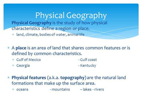 define biography characteristics geography is the study of the ppt video online download