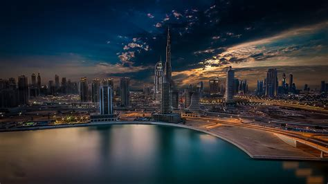city dubai arabic dream burj khalifa united arab emirates desktop wallpaper hd