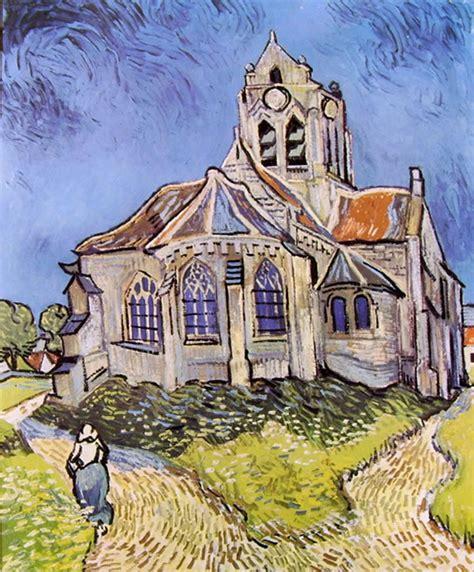 la di gogh la chiesa di auvers di gogh