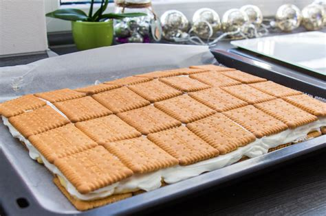 leibniz keks kuchen rezept f 252 r einen kekskuchen ohne backen brotfrei