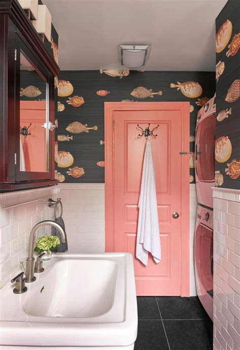 colorful wallpaper for bathroom 17 best ideas about bathroom interior design on pinterest