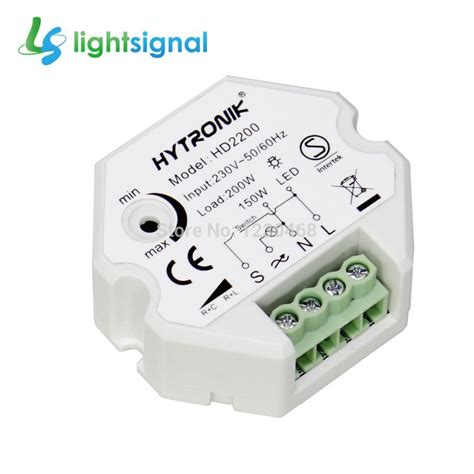 Senter Push On Dimmer 3 In 1 push type trailing edge dimmer switch push dimmer with enhanced dimming performance in dimmers