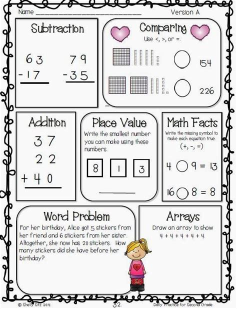 Second Grade Morning Work That Helps Students Master