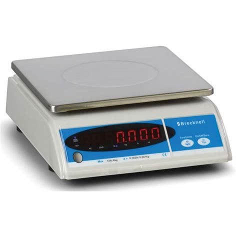 salter brecknell 405 basic weighing scale with led display 9 1 2 quot length x 8 1 2 quot width 12lbs salter brecknell 405 bench weighing scales