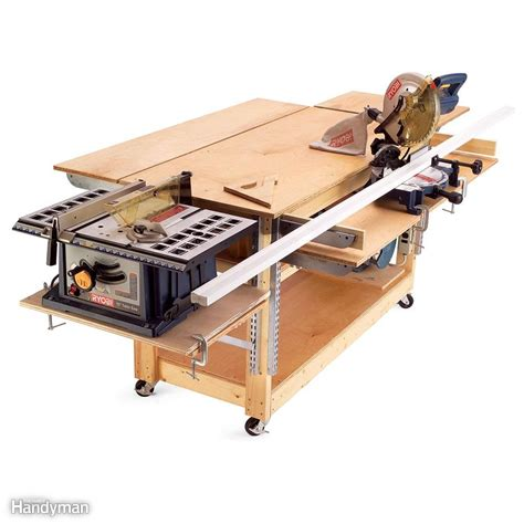 Swiss Army Kw Spasang 1 11 easy garage space saving ideas rolling workbench parking space and swiss army knife