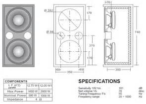 Speaker Cabinet Design Bass Cabinet Plans Plans Woodworking
