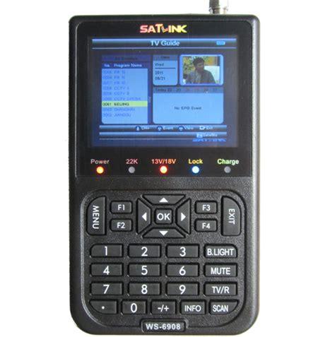 Finders Ws Dvb S Fta Digital Satellite Finder Meter Satlink Ws 6908