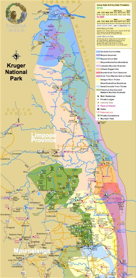 kruger national park map map of kruger national park cabs car hire south africa