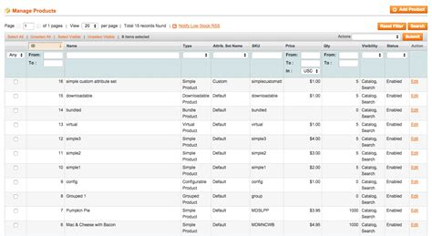 magento csv import template uploading products to magento with a product csv excel